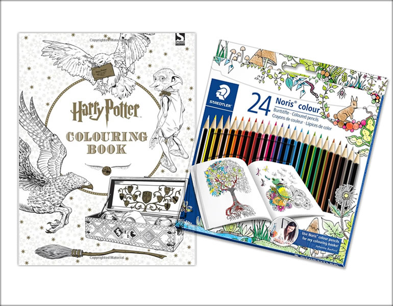 Win A Harry Potter Colouring Book And Staedtler Coloured Pencil Set